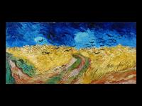 Винсент Ван Гог. Пшеничное поле с воронами (репродукция)