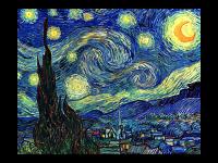 Винсент Ван Гог. Звёздная ночь (репродукция)