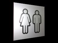 Табличка на туалет 001